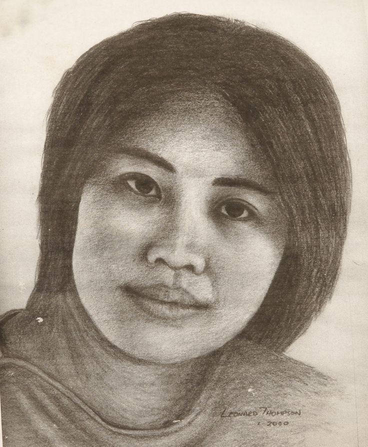 Soft pastel portrait of Jenny Ho a dear friend of the past.