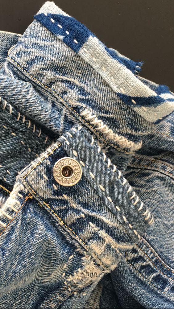Что сделать с джинсами Джинс 6 Pinterest Denim crafts, Denim