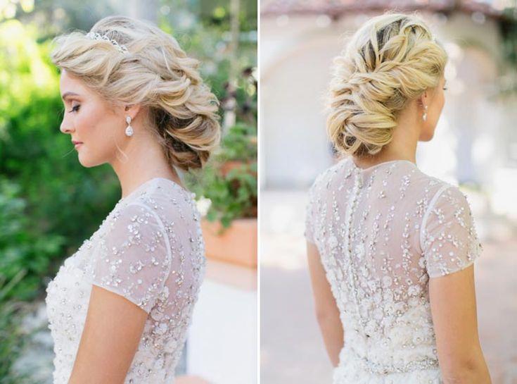 #coisinhasqueamamos: Penteados de princesa | http://www.blogdocasamento.com.br