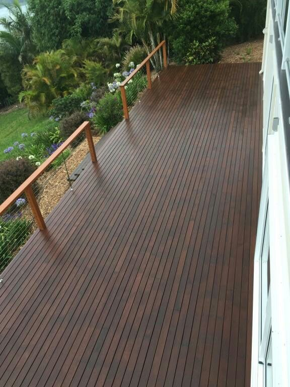 Our Big Deck!