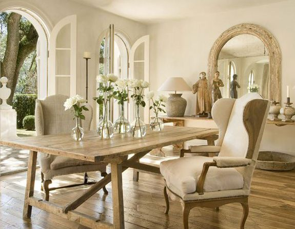 Love the neutrals...Pamela Pierce Designs:  Boards, Dining Rooms, Dining Area, White Rose, Dining Chairs, Interiors Design, Urban Farmhouse, Pamela Piercing, Dining Tables