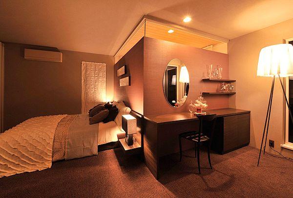 インテリアコーディネート事例 主寝室|セキスイハイム中部リビング・子供部屋・和室・寝室のインテリアコーディネート実例のご紹介