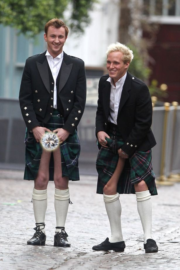 Made In Chelsea star Francis Bouelle stayed true to his name while filming scenes with Jamie Laing in London o