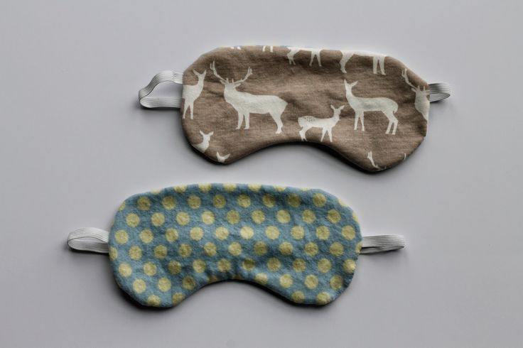 Bark and Purl: Sleep mask DIY with full tutorial and template