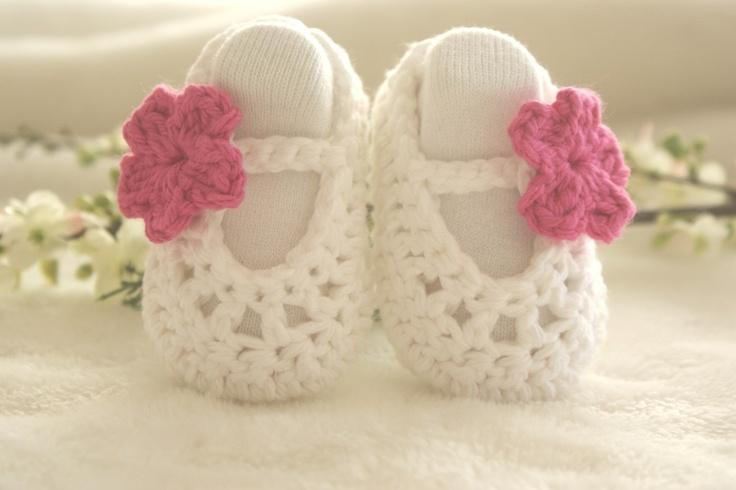 Crochet Baby Booties,
