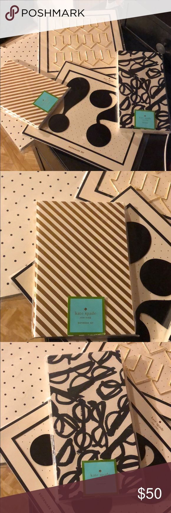 Kate Spade Desk Accessories Note Pad Notebooks New kate spade Accessories
