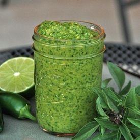 Thai Basil Pesto | Food and Recipes | Pinterest