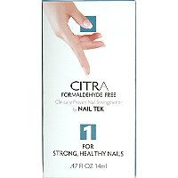 Nail Tek Citra I Formaldehyde Free for Strong, Healthy Nails
