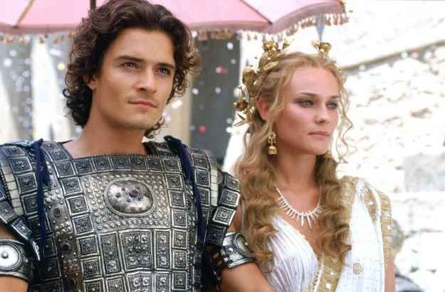The story of Helen of Troy, Paris, and Menelaus. how a face launched a thousand ships --