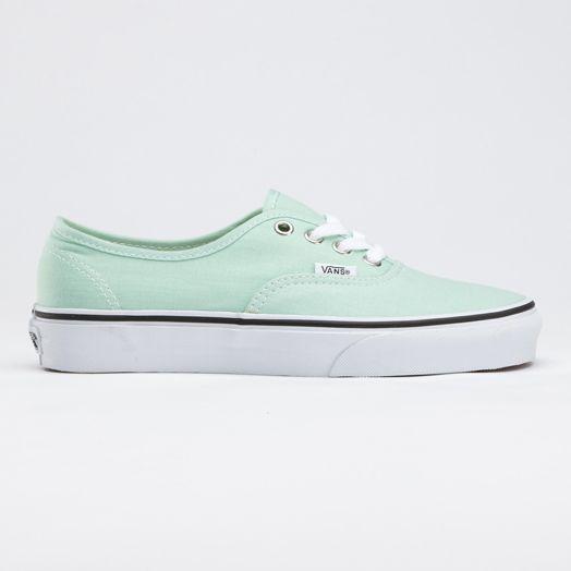 mint green vans....ooooeeeeee: Seafoam Green, Vans Canvas, Mint Vans, Authentic Vans, Vans Sneakers, Mint Green Vans, Mint Color, Mint Shoes, Gossamer Green
