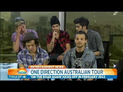 One Direction sit down with Richard Wilkins