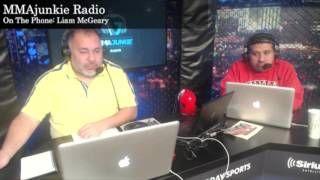 cool Liam McGeary on MMAjunkie Radio