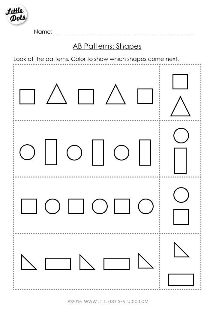 Best 25+ Shape patterns ideas on Pinterest   Free ...