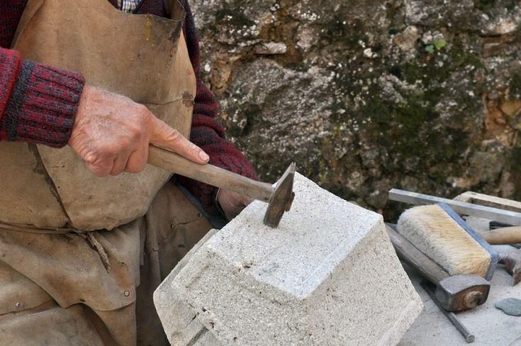 Job of a Stone Mason is Outdoor  #StoneMasonWarrandyte