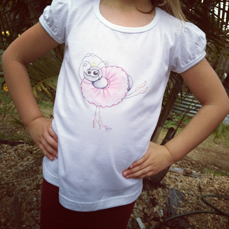 Ballerina Ant T-Shirt