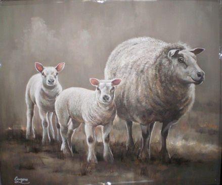 10 beste idee n over landelijke schilderijen op pinterest landelijke ontwerpen rustiek - Schilderij kooi d trap ...