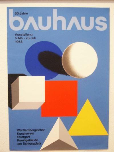 Herbert Bayer, Bauhaus 50th Anniversary, 1968