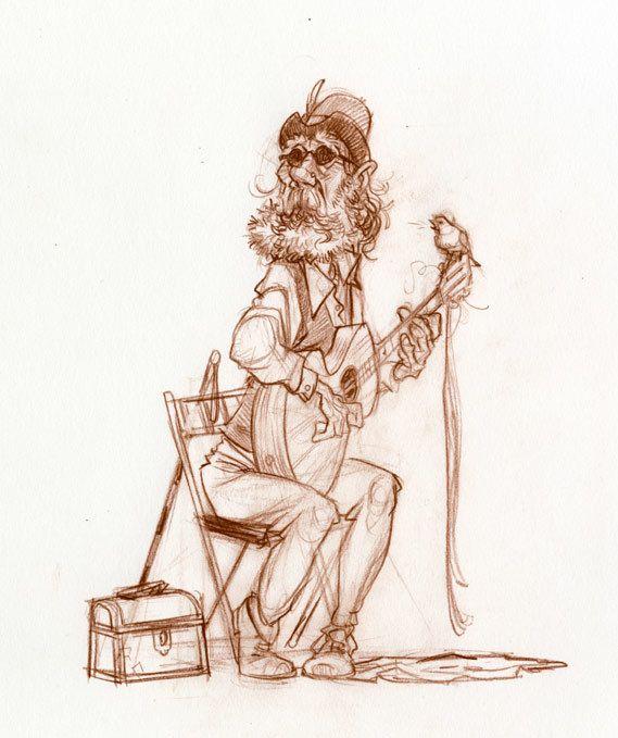 Guitar by Wouter Tulp, via Behance