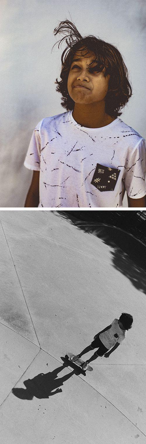 Look garçon WAY by IKKS tee-shirt imprimé tâches primtemps-été 2017 #SS17