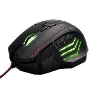 Chianrliu 3200dpi 7 Bouton Conduit Souris Gaming Filaire Optique Usb Pour Pc Mac Portable, Wired Gaming Mouse