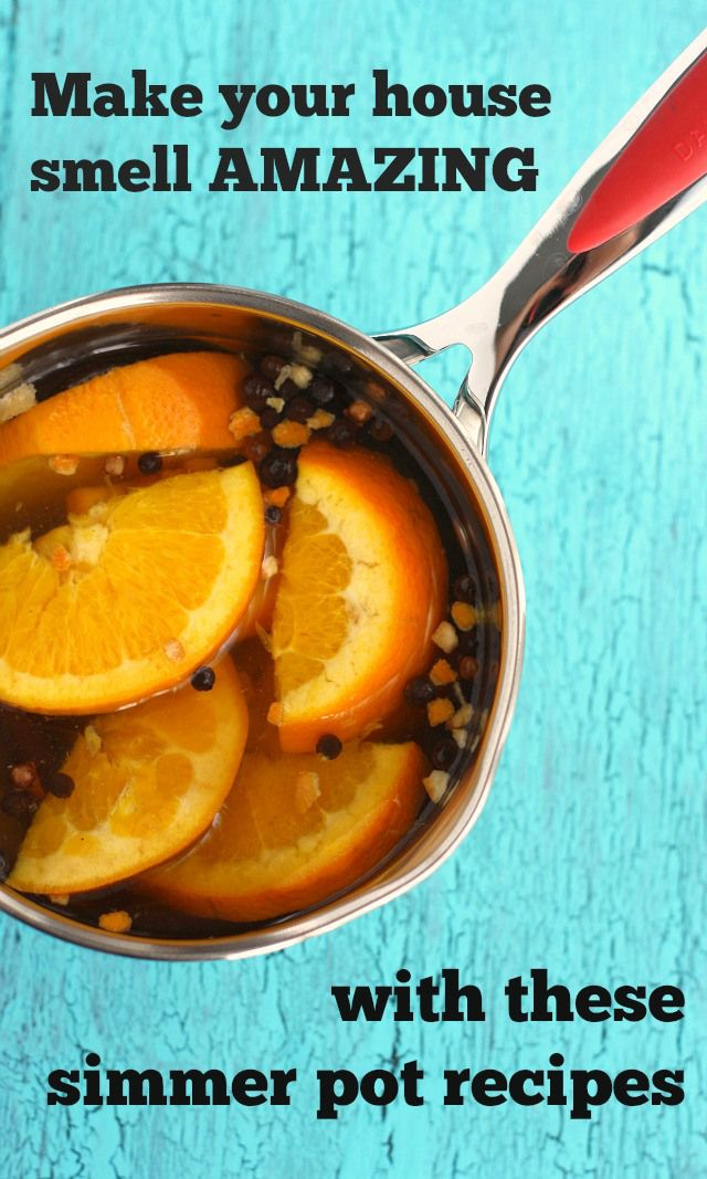Make your house smell AMAZING with these easy DIY simmer pot recipes. All natural, easy to make, and they are perfect for holiday gifts, too!