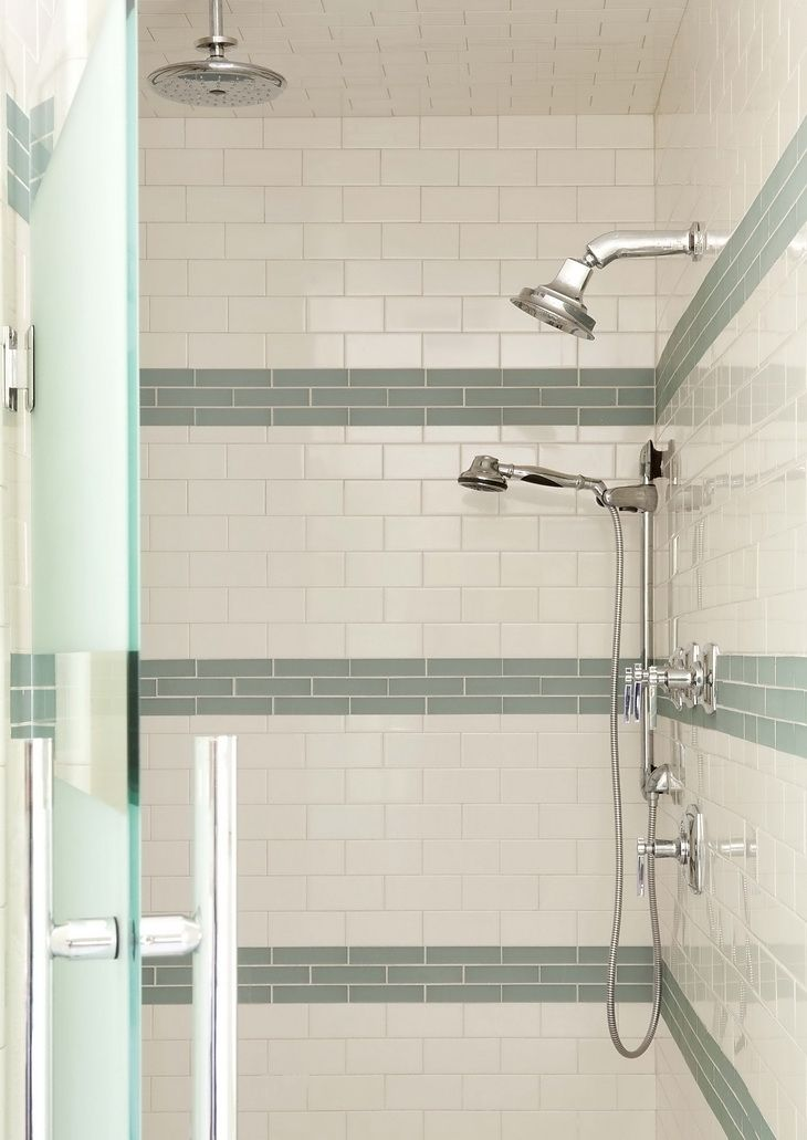 12 best images about 10th street bathroom on pinterest for Subway tile designs