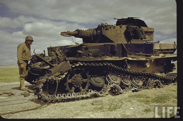 vintage everyday: Color Photos of Tunisia and Libya in the North African Campaign of World War II, 1943