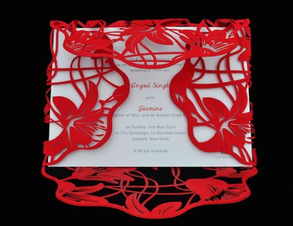 Wedding Invites - Design by Harpriya Singh Info & Review | WedMeGood #wedmegood #weddinginvites #invites