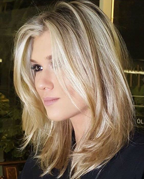 11db1ab88df308 Top 25 Sizzling Medium Blonde Hairstyles 2019 To Rock This Year ...