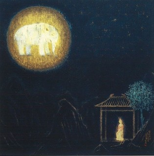 Ikuo Hirayama. Queen Maya dreams of the white elephant