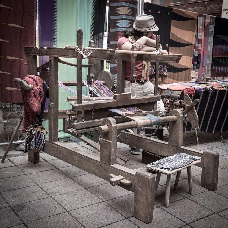 Traditional loom  http://www.budapestwithus.hu/gouba/