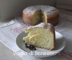 Torta con ricotta e yogurt al profumo di limone Blog Voglia di Benessere