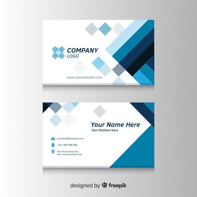 Download Elegant Business Card Template With Geometric Shapes For Free Business Cards Vector Templates Elegant Business Cards Business Card Template