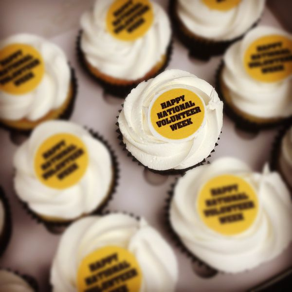 Commonwealth Bank Cup Cakes.