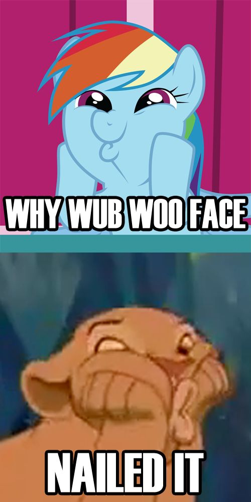 Why Wub Woo / Dashface: Image Gallery | Know Your Meme