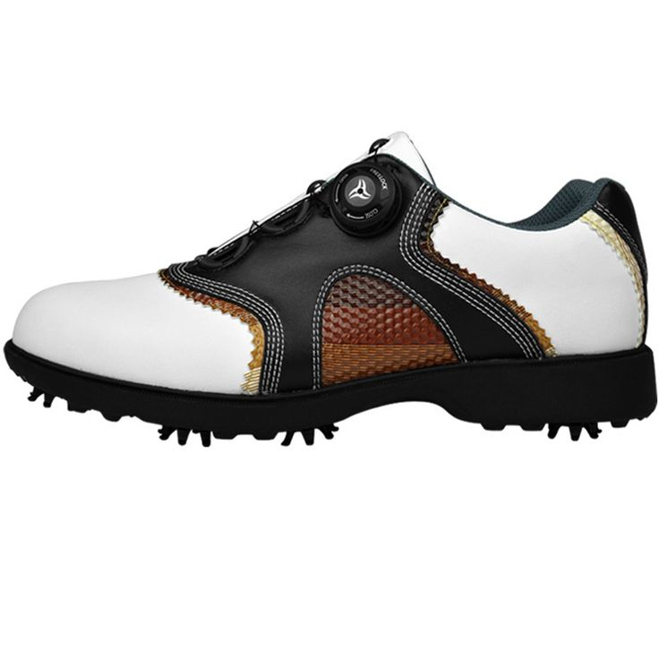 Cheap golf shoes men waterproof, Buy Quality golf shoes men directly from China golf shoes Suppliers: 2016 patent Golf Shoes Mens Leather shoes laces send activities nail automatic revolving spikes golf shoes men waterproof