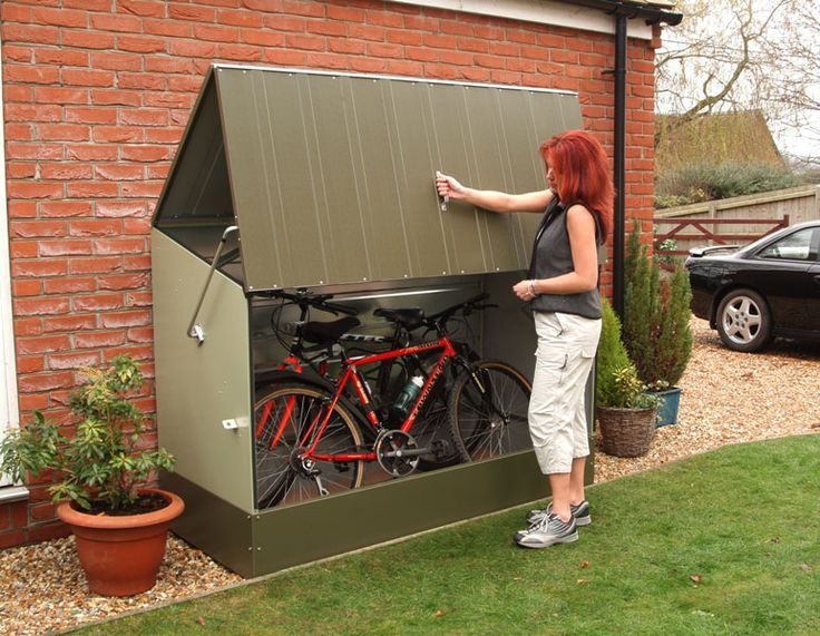 Bike storage. Keep your bicycle out of the elements with #bikebox