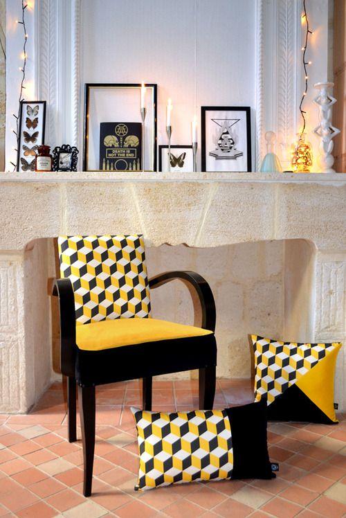 ATELIER KOBALT - HEADACHE Fauteuil Bridge jaune et noir https://www.etsy.com/fr/listing/229730660/fauteuil-bridge-headache?ref=shop_home_active_1