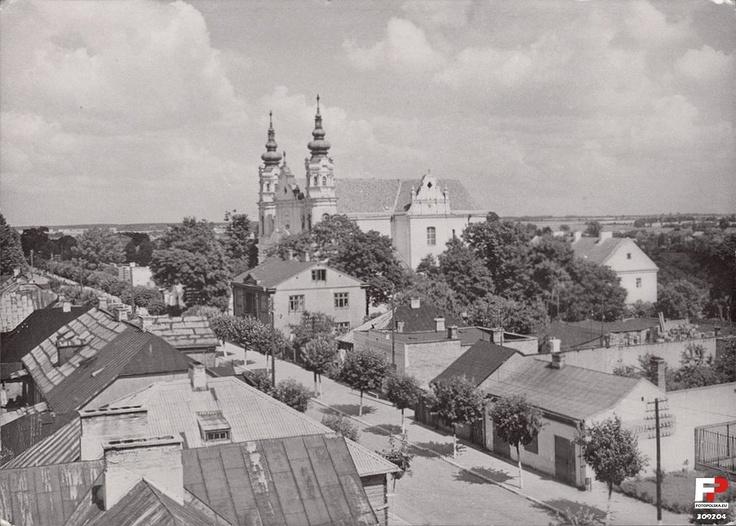 Biała Podlaska, ul. Brzeska, ok. 1960 r.