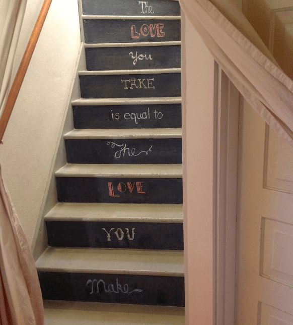 20 Attractive Painted Stairs Ideas. Best Paint For Stair Treads