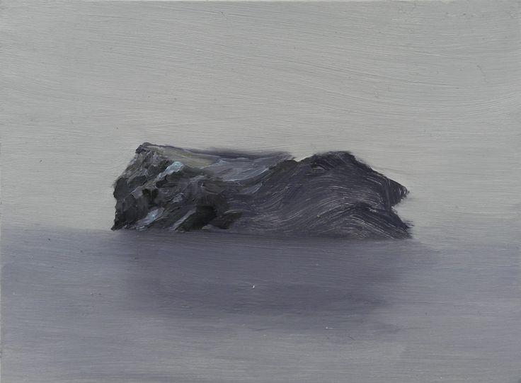 Sea Rock, oil on board, 195 x 145 mm, 2014