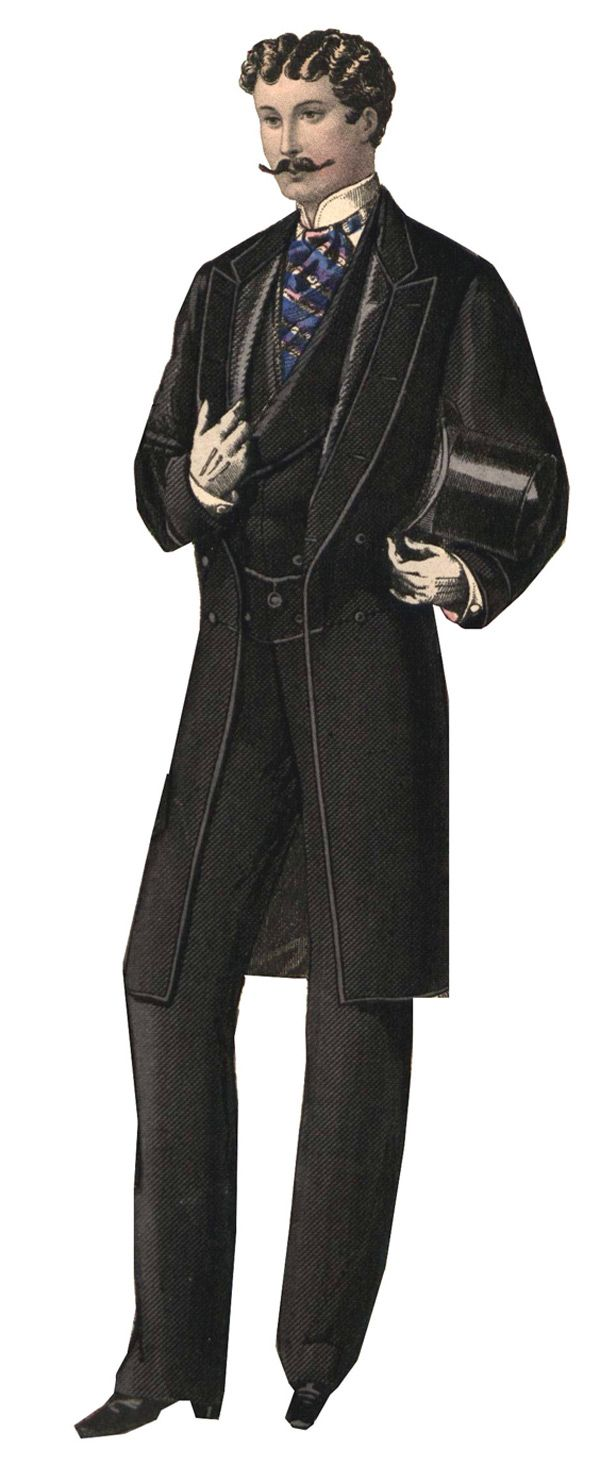 Late Victorian Clothing for Men at Gentlemans Emporium