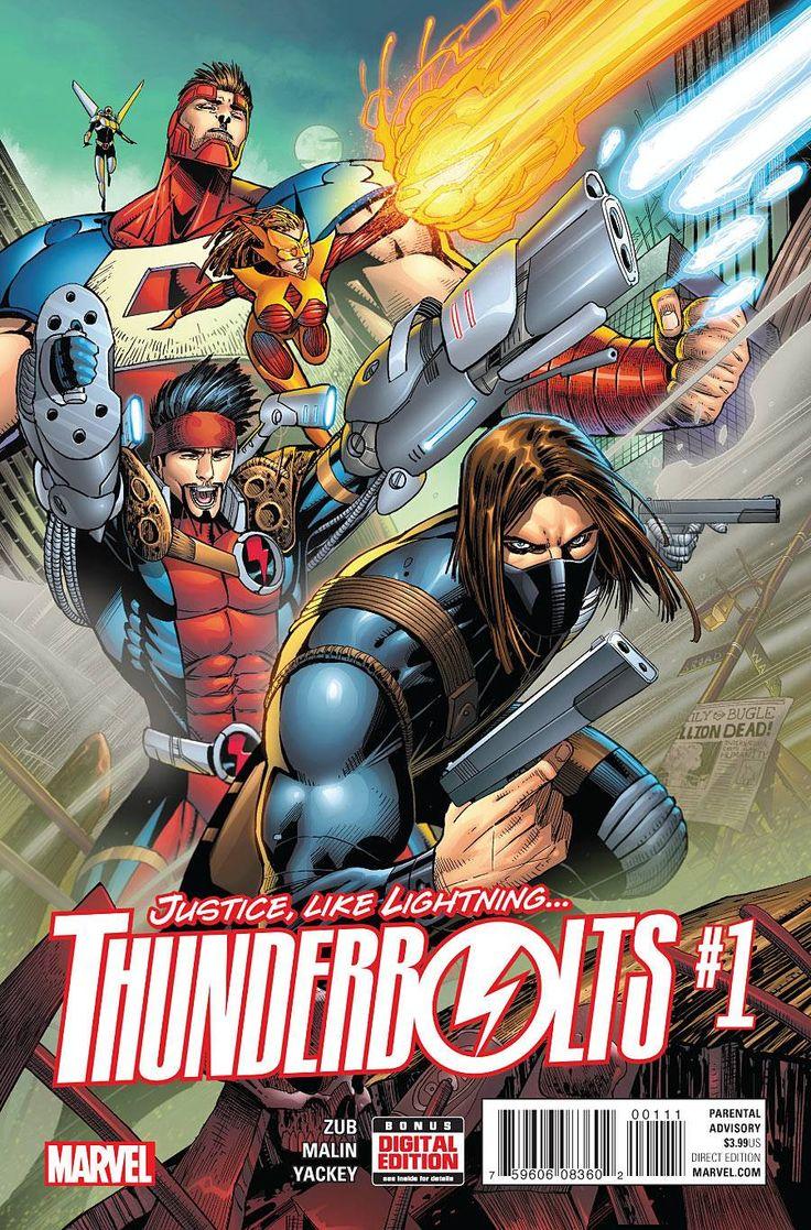 Thunderbolts #1 Marvel Comics (2016)