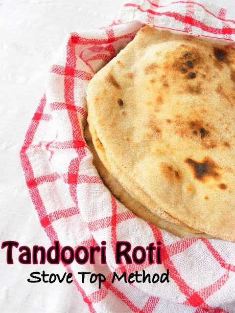 How To Make Tandoori Roti On Stove Top....from scratch!!