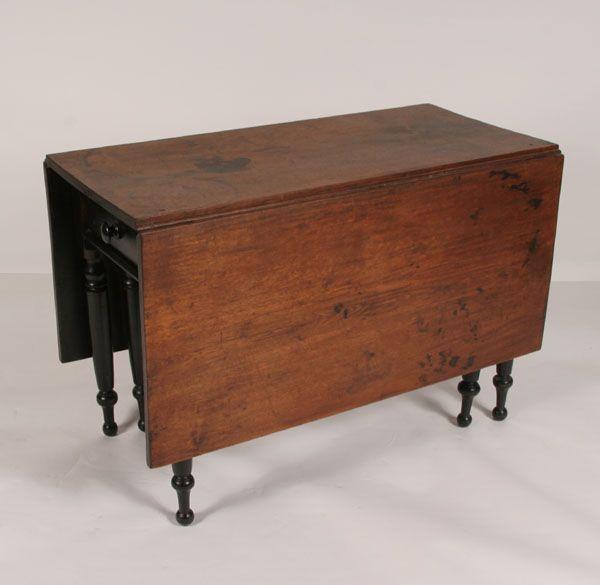 Gate Leg Drop Leaf Table Single End Drawer 30 Quot H X 44 Quot L
