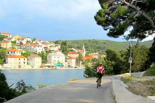 Bike through beautiful #Mediterranean villages with VBT in #Croatia.