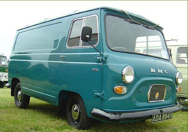 1970 BMC J4 Van