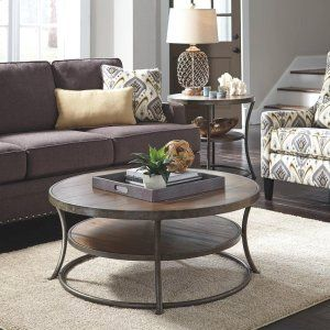 T8058 In By Ashley Furniture In Plymouth, WI   Round Cocktail Table