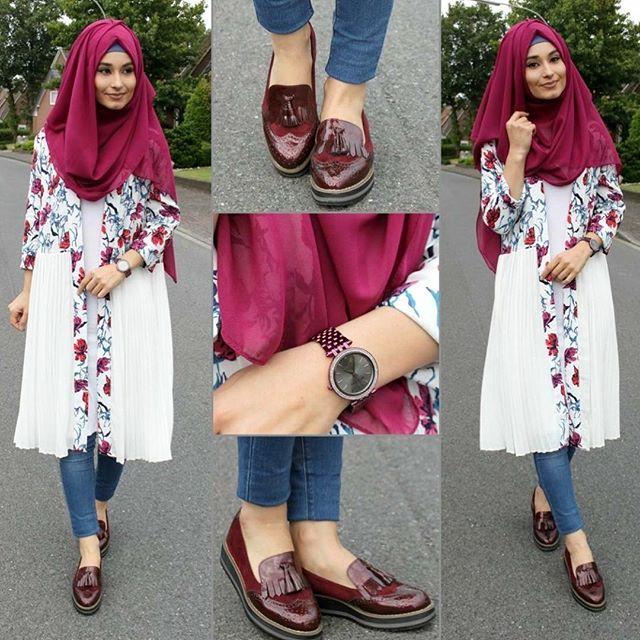 Cardigan - www.misselegance.de (Elegance 506) Watch / Uhr / Saat - Michael Kors  Shoes / Schuhe / Ayakkabilar - Schwarze (Dortmund) Pants / Hose / Pantolon - Zara Hijab / Kopftuch / Basörtü - im Online Shop (Hijab 173)
