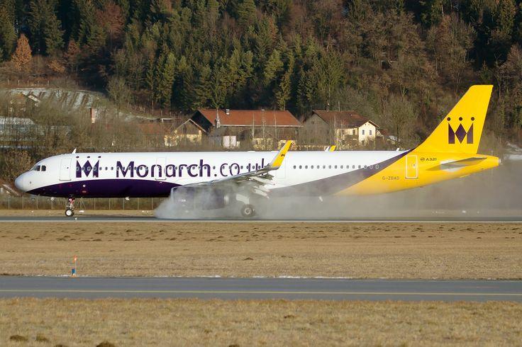 The beautiful winter season of Innsbruck Airport